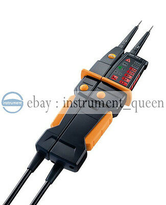 testo 750-2  Voltage tester 0590 7502  Clear, patented all-round LED display 2
