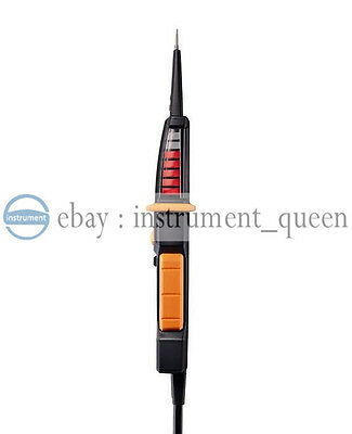 testo 750-2  Voltage tester 0590 7502  Clear, patented all-round LED display 3