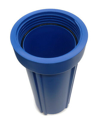 "10"" Blue Housing For Reverse Osmosis Water Filters With 3/4"" Female Port 4"