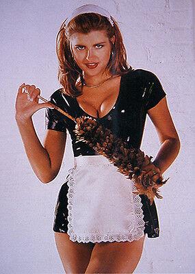 dominante Mistress Gummi Rubber Latexhandschuhe mit Extremotips Gr. XL 6