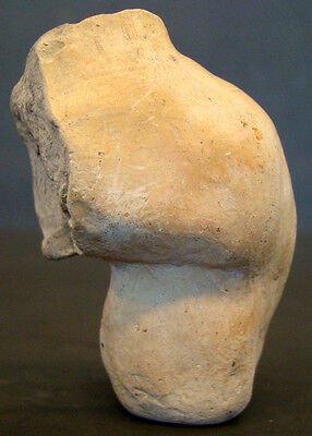 Authentic PRE-COLUMBIAN Female EFFIGY TORSO LEG / MEXICO Colima MAYAN Aztec INCA 2