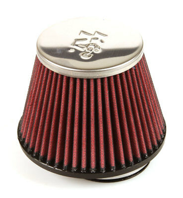 119M RC-9560 K/&N Universal Chrome Air Filter 68MM FLG ID 89MM T OD 132MM B OD