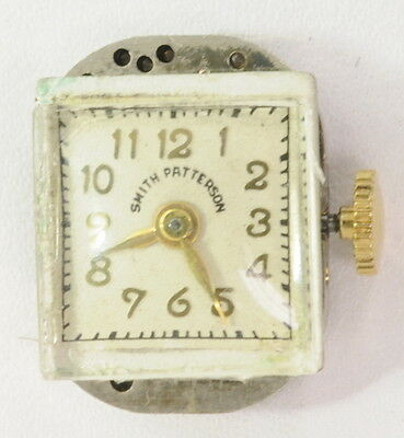 Smith Patterson Avalon EQM Mechanical Wrist Watch Movement Dial and Crystal 2