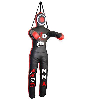 DEFY Brazilian Real Artificial Leather Kneeling Dummy MMA Judo Art Black /& Red