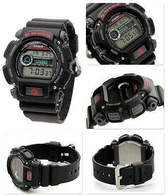Casio G-Shock Digital Mens Watch Dw9052-1V Black/red 2Y Warranty Dw-9052-1Vdr 7