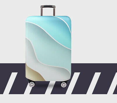 """18""""-32"""" Travel Suitcase Luggage Cover Protector Elastic Anti-scratch Dustproof 4"""