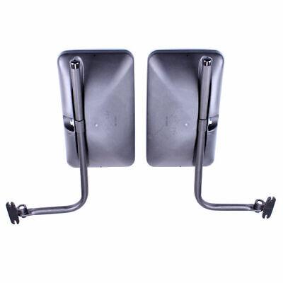 2x Außenspiegel Rückspiegel 250x160 ø18 mm LKW BUS mit Spiegelhalter Spiegelarm