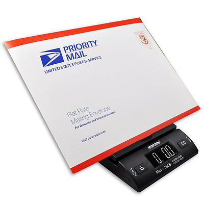 Accuteck 50lbx0.2oz All-In-One PT50 Digital Shipping Postal Scale W/AC Postage 3