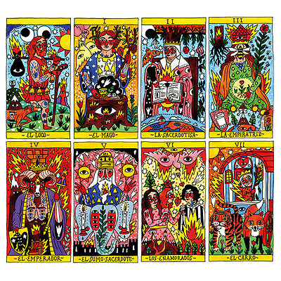 Tarot Del Fuego Cards Deck By Ricardo Cavolo Fournier Telling Spain New