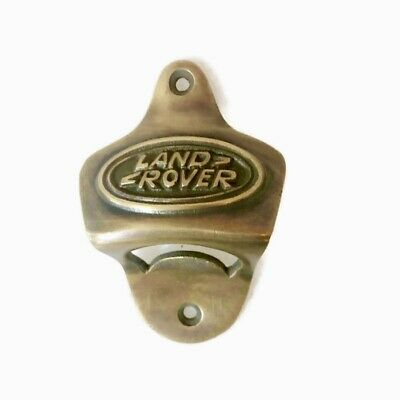 LAND ROVER car wall Bottle Opener solid pure brass works screw heavy B 5