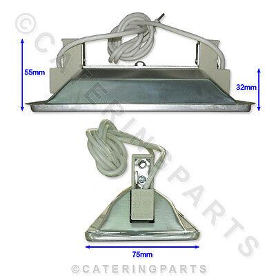 Inomak Overhead Heated Food Display Gantry Unit Light Bulb Heat Lamp Holder Kit 2