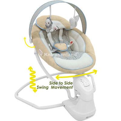 Babywippe Babyschaukel Babyliege Schaukelsitz elektrische Baby WIPPE Schaukel C