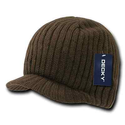 Decky GI Light Weight Beanies Striped Solid Caps Hats Visor Winter 4