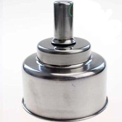 1 pcs DENTAL LAB JEWELLERS ALCOHOL SPIRIT LAMP BUNSEN BURNER Stainless steel UK 6