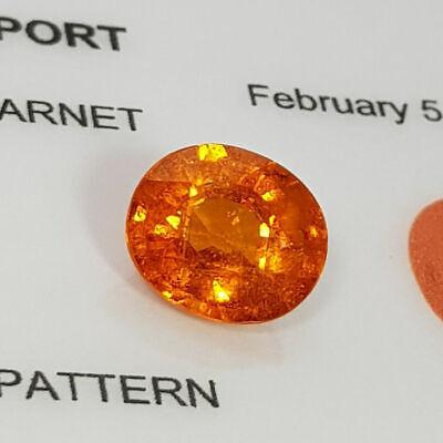 Loose Gemstone - Spessartite Garnet 2.95 ct 7