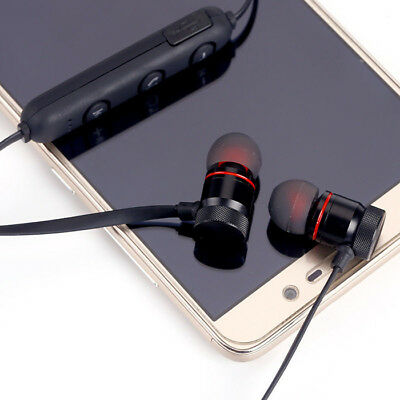 Magnet Wireless In-Ear Sports Earphone Headset Headphone For iPhone Samsung 12