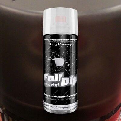 Vinilo Liquido Fulldip Ahumado Negro En Spray Para Pilotos Y Faros | Envío 24H 2