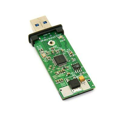 42mm NGFF M2 SSD to USB 3.0 External PCBA Adapter Card Flash Disk Type with Case 8