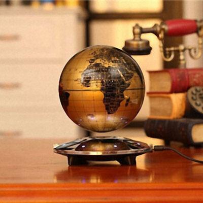 Magnetic levitating world map globe floating rotate earth led light 5 of 11 magnetic levitating world map globe floating rotate earth led light gift 8 led l gumiabroncs Images