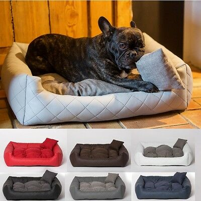 Luxury Soft Comfy Dog Cat Pet Warm Sofa Bed Cushion Extra LARGE up to 130cm 2