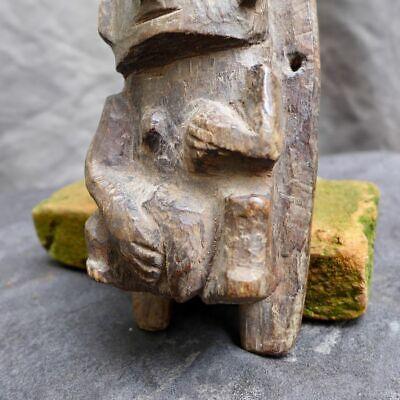 Very nice wood carving with a woman, Recuay-Huari, Peru 300-1100 AD 7