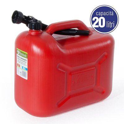 Tanica Taniche Omologata Plastica Carburante Benzina Gasolio 5 - 10 - 20 Litri 4