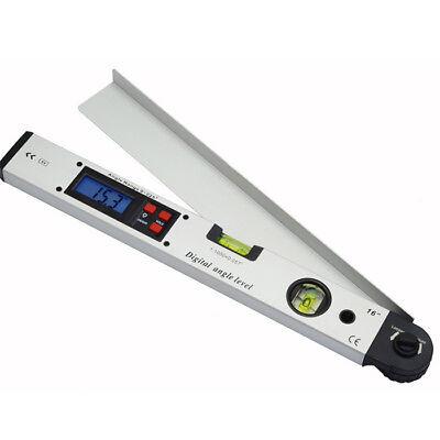 0~225°LCD Digital Inclinometer Protractor Spirit Level Angle Finder Gauge Meter 6
