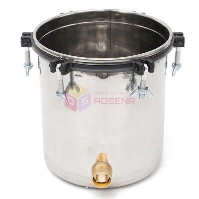 18L Portable Stainless Steel Steam Autoclave Sterilizer Medical Sterilization 5