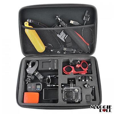 Extra Large GoPro Travel Storage Carry Hard Bag Case  Go PRO HERO 7 6 5 4 3 2 5