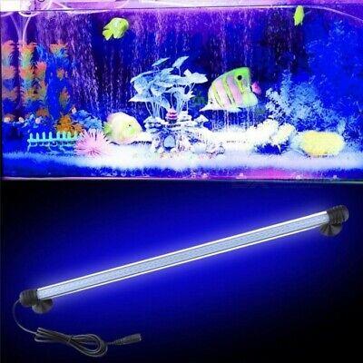 Barra Led Lampada Neon Per Acquario Impermeabile Immersione Luce Blu Rosa Bianca 7