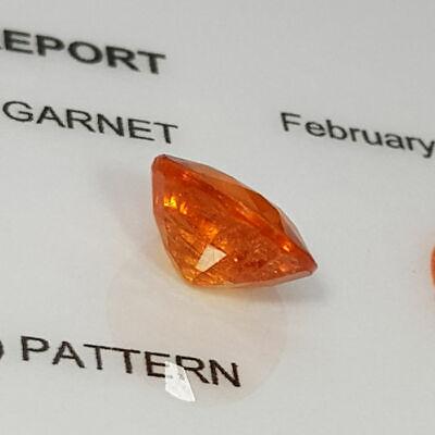 Loose Gemstone - Spessartite Garnet 2.95 ct 8