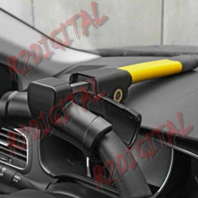 Bloccasterzo Universale Per Auto In Acciaio Blocca Volante Antifurto Manubrio 2