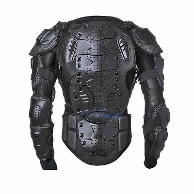 Black Body Armour Motorcycle Motocross Dirt bike MX Pressure Suit Kid/Adult Size