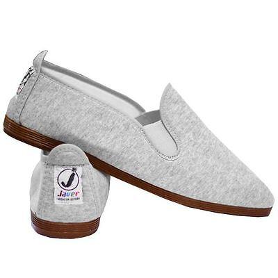 Ladies Women's  Javer Flossy Style  Plimsolls Espadrilles Flat Shoes New 4