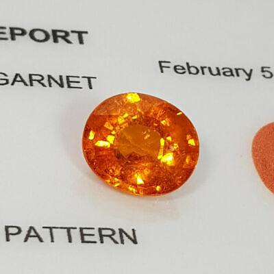 Loose Gemstone - Spessartite Garnet 2.95 ct 3