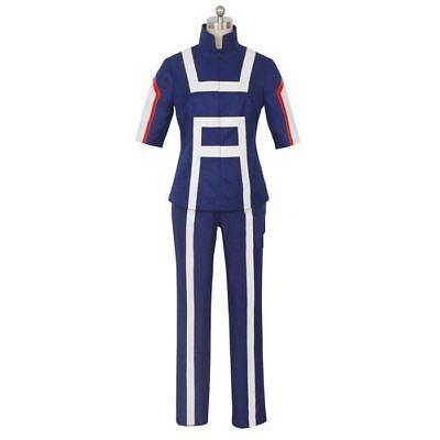 UK My Hero Academia Cosplay Costume Set Training Suit Sportswear Sweatshirt Gym 2