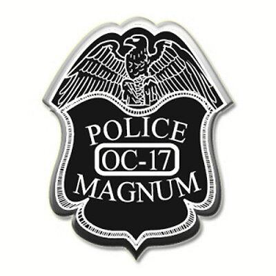2 pack POLICE MAGNUM PEPPER SPRAY .50oz SOFT PINK Molded Keychain Self Defense 6