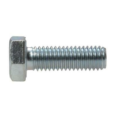 Hex Bolt M8 (8mm) Metric Coarse Set Screw High Tensile Class 8.8 Zinc Plated