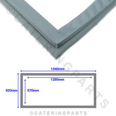 FOSTER 15211732 UPRIGHT FRIDGE REFRIGERATOR DOOR GASKET SEAL 620mm x 1340mm 4