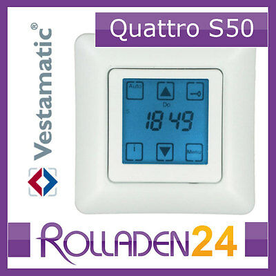 NEU Zeitschaltuhr Vestamatic Quattro S50 + Sonnensensor 1m  RolladenSteuerung 2