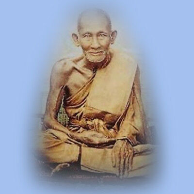 Phra Somdej Luang Pu Suk Wat PAK KHLONG MAKHAM TAO Old Thai Magic Amulet Buddha