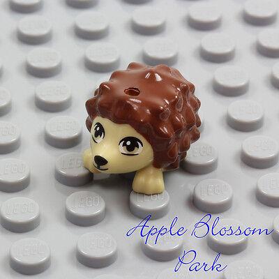 Minifig Hedgehog with Reddish Brown Spines LEGO Tan Animal