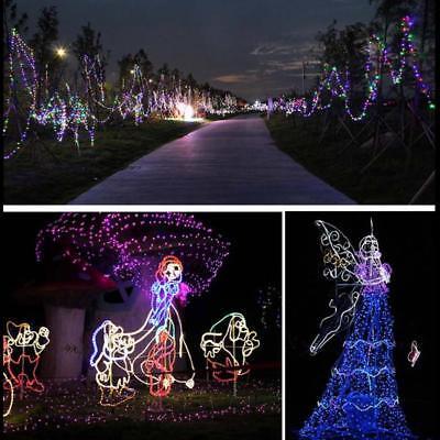 22M 200 LED Solar Power Fairy Lights String Garden Outdoor Party Wedding Xmas UK 5