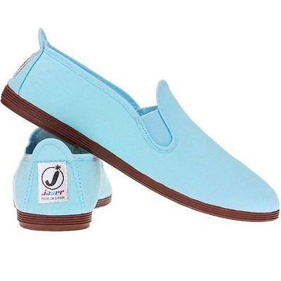 Ladies Women's  Javer Flossy Style  Plimsolls Espadrilles Flat Shoes New 3