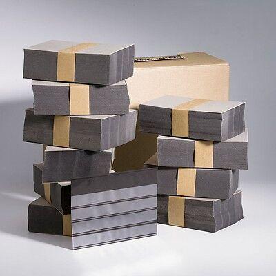 500  Leuchtturm Einsteckkarten / Steckkarten C6 , 4 Streifen mit Folie  Neu