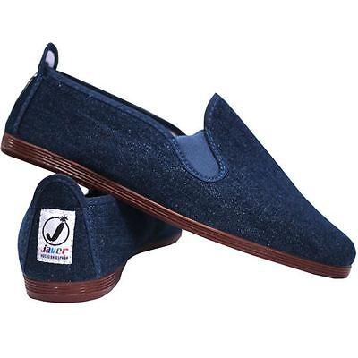 Ladies Women's  Javer Flossy Style  Plimsolls Espadrilles Flat Shoes New 8