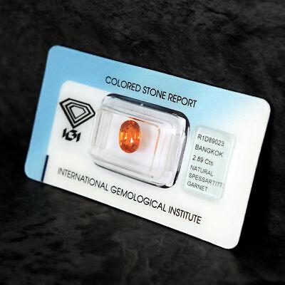Loose Gemstone - Spessartite Garnet 2.89ct 4