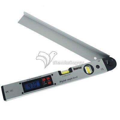 0~225° LCD Angle Finder Digital Inclinometer Protractor Meter Spirit Level 2