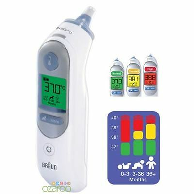 Braun ThermoScan 7 IRT6520 Baby/Adult Professional Digital Ear Thermometer 4520 7