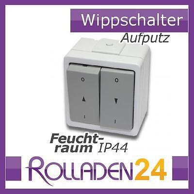 Vedder 93241DUW auf Putz Schalter Jalousie Schalter ultraweiß Stecker IP44